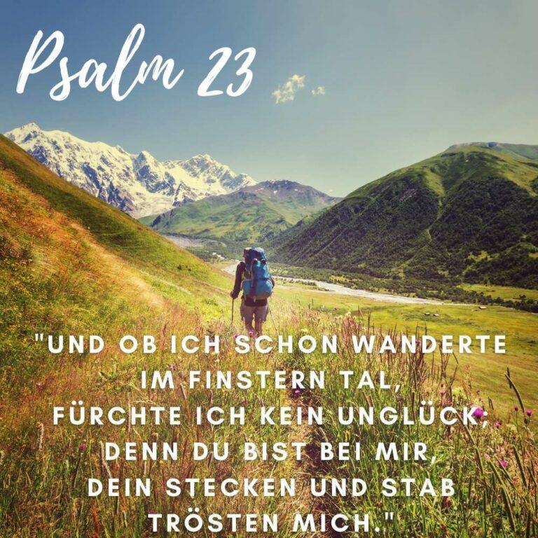 Bibelvers Psalm 23