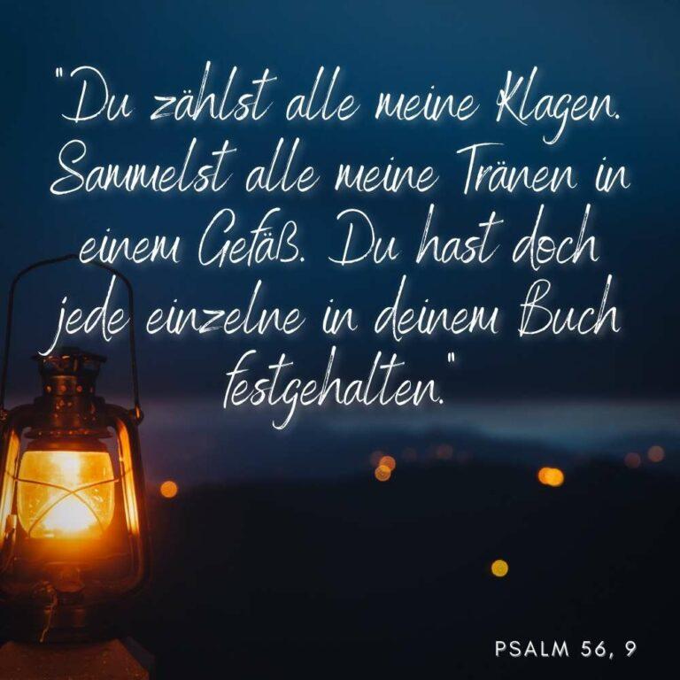 Psalm 56, 9