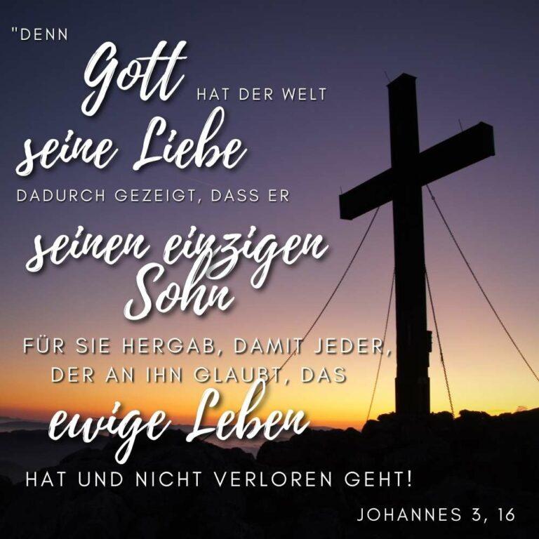 Bibelvers Johannes 3, 16