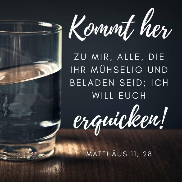 Bibelstelle Matthäus 11, 28