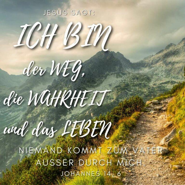 Bibelvers Johannes 14, 6