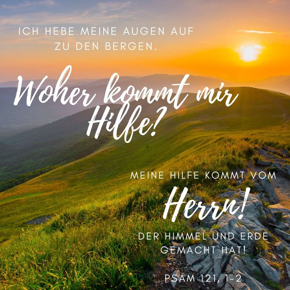 Bibelvers Psalm 121