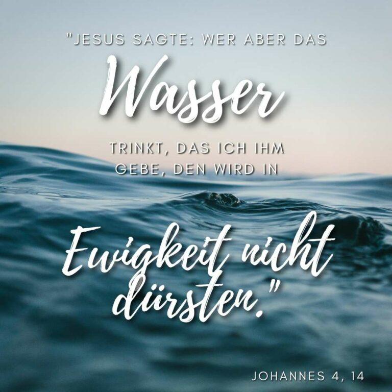 Bibelvers Johannes 4, 14